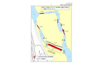 2018物部川下流域におけるアユ産卵場の位置と面積.png
